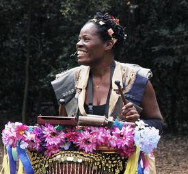 Diana Lynn, Invertigo Dance Theatre musician