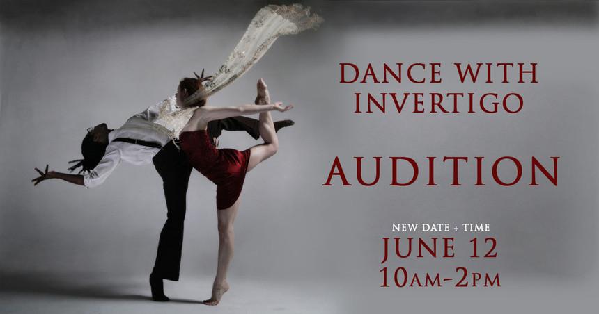Invertigo, Audition, Los Angeles dance