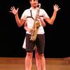 Invertigo Dance Theatre, Saxy, Los Angeles contemporary dance company, music and dance, saxophone dance